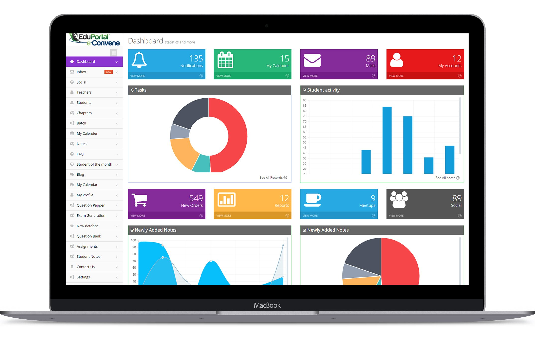 Educational Portal - Saiha: Web Application development